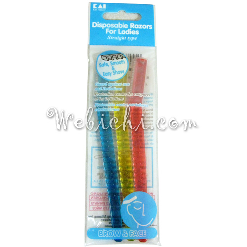 Kai RAZOR Disposable Razor Type-l Straight 3p