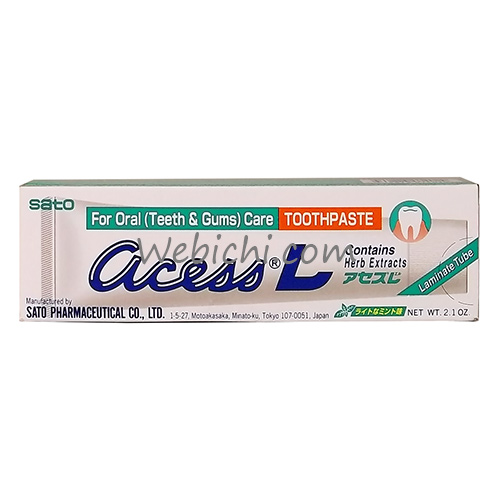 Sato Pharmaceutical ACESS L Toothpaste 60g