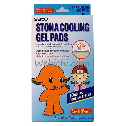 Sato Pharmaceutical STONA Cold Remedy Cooling Gel Pads