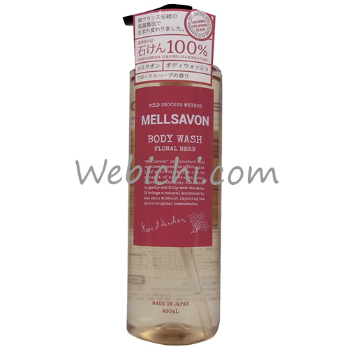 Japan Gateway MELLSAVON Body Wash Floral Herb