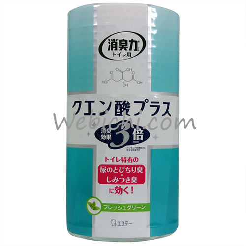 St SHOSHU-RIKI Deodorizer For Toilet Citric Acid+ Soap