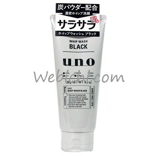 Shiseido FT UNO Whip Wash Black