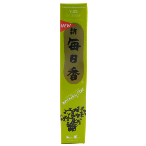 Nippon Kodo MORNING STAR Incense Yuzu 50sticks