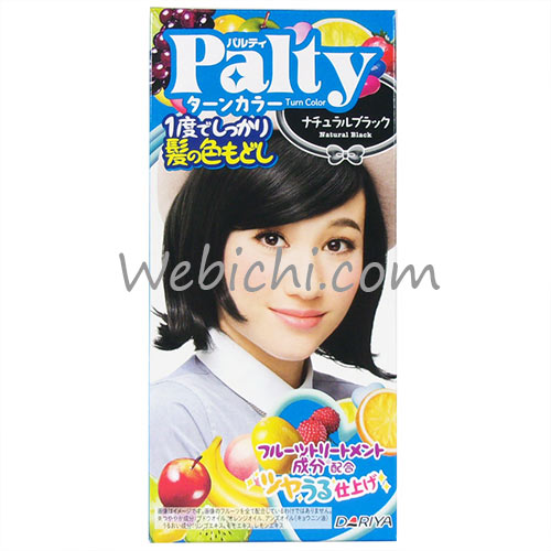 Dariya PALTY Turn Color Natural Black