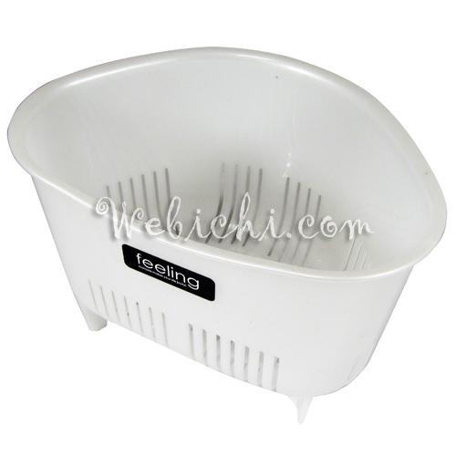 Inomata FEELING Sink Strainer White