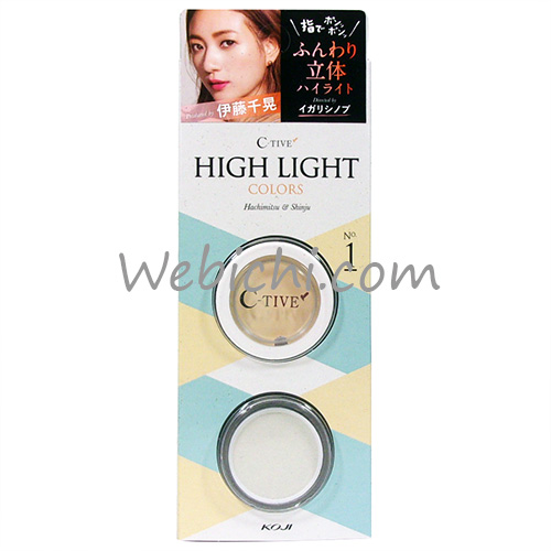 Koji C TIVE High Light Colors No.1 Pretty