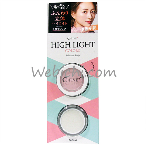 Koji C TIVE High Light Colors No.2 Lovely