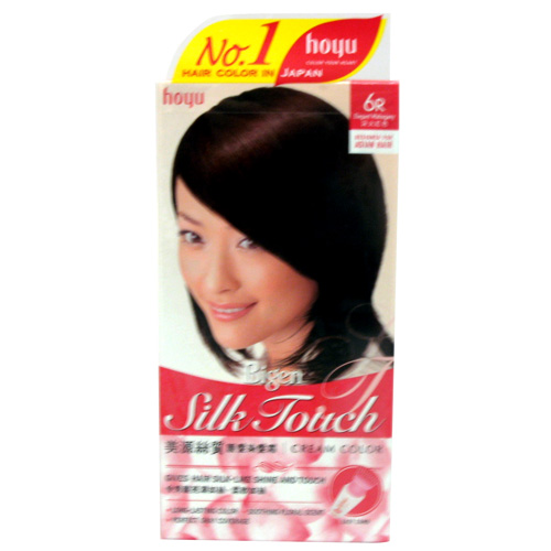 Hoyu BIGEN SILK TOUCH Hair Color 6r Elegant Mahogany