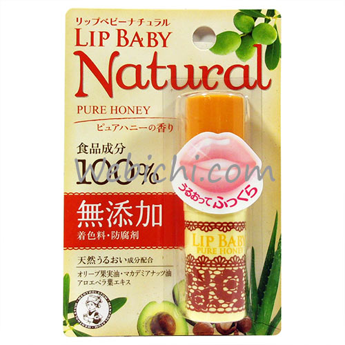 Rohto LIP BABY Natural Pure Honey