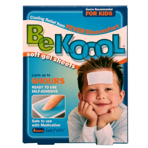 Kobayashi Hc BE KOOOL Soft Gel Sheets For Kids 4shts